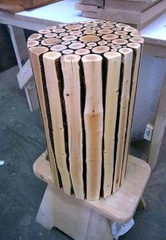 Twig table - by Drew @ LumberJocks.com ~ woodworking community