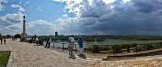 Confluence of Danube and Sava bellow of Kalemegdan