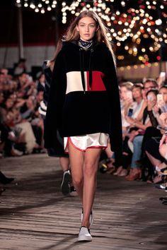 Gigi Hadid at #TOMMYNOW - The Best Front Row Fashions at New York Fashion Week…