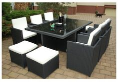 Gartenmöbel rattan set  Oakita Lauren Rattan Garden Furniture Circular Sofa Set | My pins ...