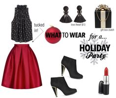 { 3 looks to wear for the holidays }