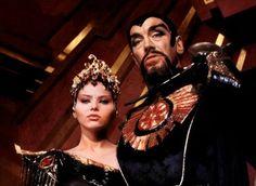 Princess Aura (Ornella Muti) and Emperor Ming the Merciless (Max von Sydow) - Flash Gordon Flash Gordon, Fiction Movies, Sci Fi Movies, Science Fiction, Mad Science, Cult Movies, Horror Movies, Ornella Muti, Max Von Sydow