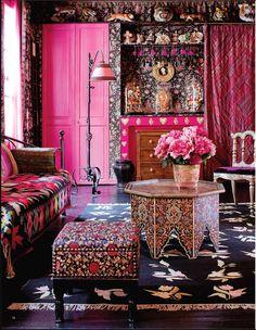 Un appartement Bollywood à Paris