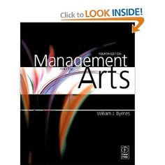 Management and the Arts, Fourth Edition