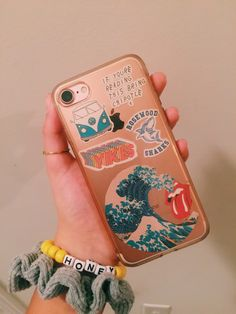 Bhavyaanoop phone case happy diy in 2019 aesthetic phone case. Tumblr Phone Case, Diy Phone Case, Cute Phone Cases, Iphone Cases, Laptop Case, Ipad Mini, Whatsapp Pink, Disney Cute, Accessoires Iphone