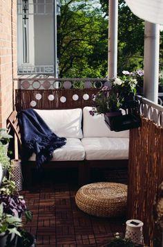 Gartenbett wetterfest  Ein Gartenbett bitte! [DIY] | Verandas, Balconies and Gardens