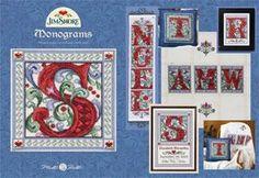 Jim Shore Monograms (Cross Stitch Book)