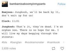 BTS- Jungkook is me