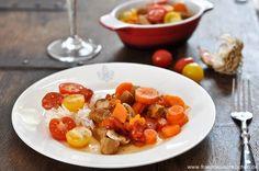 Veau Marengo | Rezept | Französisch kochen