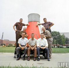 Life Magazine: Project Mercury 1959 - the seven pioneer astronauts.