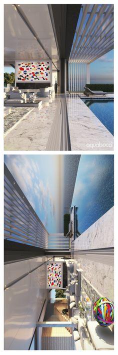 Balcony Drain Inspiration | The Aquabocci R-47 Threshold Door Drainage System | Exclusive to the Official Aquabocci Online Store www.aquabocci.co.uk/r-47