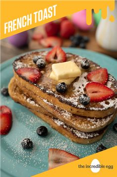 French Toast just got sweeter with this Easter French Toast recipe that serves as a great addition to your Easter spread. Add a little sweetness to your Easter with this recipe today. Easter Recipes, Brunch Recipes, Best Breakfast, Breakfast Ideas, Incredible Eggs, Recipe Today, Serving Size, Raisin, Soups