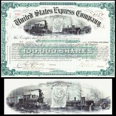 United-States-Express-Company-1897-Stock-Certificate