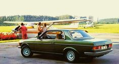 Mercedes Benz W123 Coupe Green