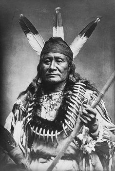 Rushing Eagle. Arikara. Photo from 1870-1891. Source - Library of Congress.