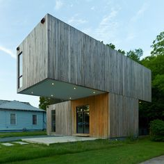 Cantilever House by Fay Jones School of Architecture and Design students