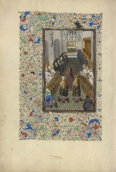 Office of the Dead Artist/Maker(s): Master of the Llangattock Hours, illuminator [Flemish, active about 1450 - 1460] Date: 1450s Medium: Tempera colors, gold leaf, gold paint, and ink on parchment Dimensions: Leaf: 26.4 x 18.4 cm (10 3/8 x 7 1/4 in.) Object Number: 83.ML.103.131v Department: Manuscripts - See more at: http://search.getty.edu/museum/records/musobject?objectid=3899#sthash.fXFkzg7Z.dpuf