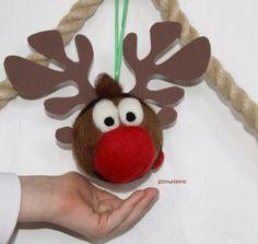 Bastelset Korken Elch 3 Stück Weihnachten Advent Winter Deko Rentier