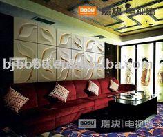 3 d wall paper decorations board   Whisper wall decoration panel & 3d board, View 3D wall panel, BoBu ...