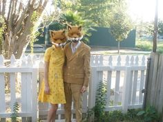 fantastic mr.fox halloween costumes...awesome!