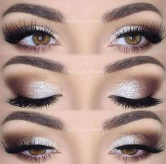 Champagne Sparkle - Smoky Eye Looks That Will Change Your Beauty Game - Photos