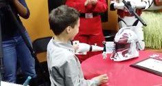 3D Printed Arm a Big Surprise to a Little Boy!