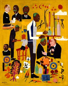 Dr. George Washington Carver by William H. Johnson / American Art