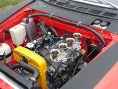 Fiat 124 abarth GR4 Motor Engine, Car Engine, Fiat Sport, Fiat 124 Spider, Fiat Cars, Porsche 930, Race Engines, Fiat Abarth, Rally Car