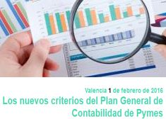 Los criterios del Plan General de Contabilidad de pymes 2016, nueva jornada en ADEIT - ADEIT