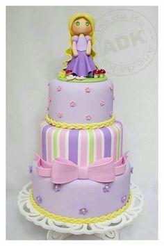 This website has lots of gorgeous cakes :) Tangled Birthday Party, Birthday Cake, Gorgeous Cakes, Amazing Cakes, Cupcakes, Cupcake Cakes, Bolo Rapunzel, Princess Rapunzel, Safari Cakes