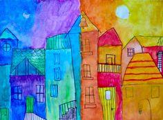 40 Mejores Imágenes De Colores Cálidos Y Fríos Acuarela Arte