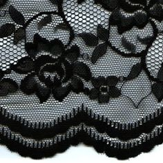 Party Time Lace Fabric, Black