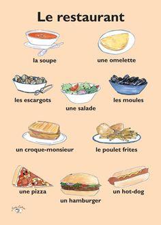 Poster - Le restaurant
