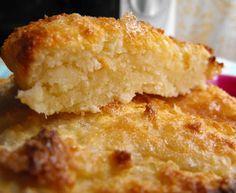 Tarte de coco com queijo fresco batido (quark)