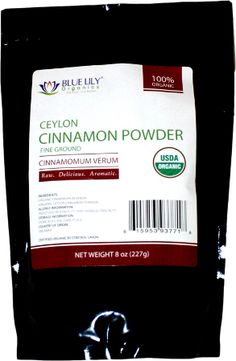 Share and get a coupon code.. Ceylon Cinnamon Powder – 8oz