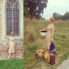WEBSTA @ frolleinsandmann - before and after fleamarketing yesterday ☺️(spot the…
