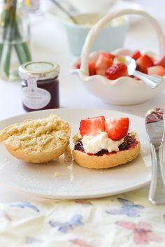 Vegan Scones with Vegan Clotted Cream  |  WallflowerGirl.co.uk  #vegan - Brilliant!