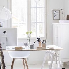 The 29 Most Stylish Workspaces on Instagram via Brit + Co