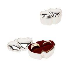 Double Hearts Ring Box