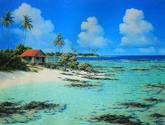 My little beach hut in Hawaii!