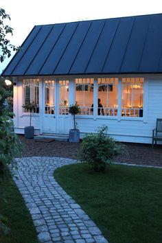 summer garden pavilion or studio space
