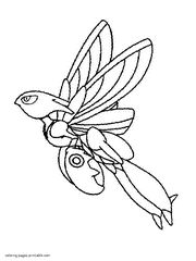 region pokemon coloring pages - photo#23