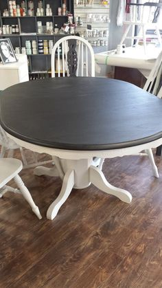 $595 with 6 chairs. Completed in Fusion Mineral Paint and table has two coats of Tough Coat. Follow all new listings at https://www.facebook.com/