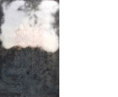 Apparenze 4- 2009  cm 36x24   Ceramica- Mix di terre raccolte in toscana e refrattari.  La superficie è colorata con terre rosse e lucidata a tratti con agata.  Cottura effettuata a cielo aperto By Giovanni Maffucci