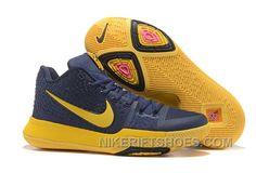 low priced edf36 8933b Nike Kyrie 3 Mens BasketBall Shoes Cavs Yellow Lastest 74GZp