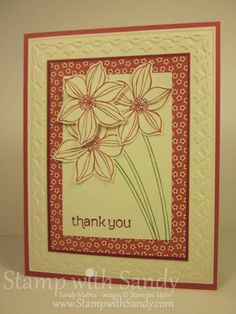 Secret Garden and Print Poetry by stampwithsandy - Cards and Paper Crafts at Splitcoaststampers