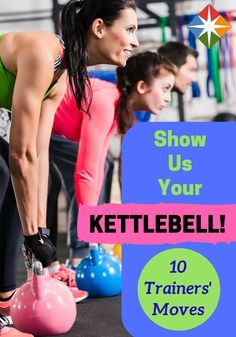 10 Trainers Reveal Their Go-To Kettlebell Moves