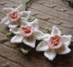daffodils... #inspiration_crochet_diy GB ...