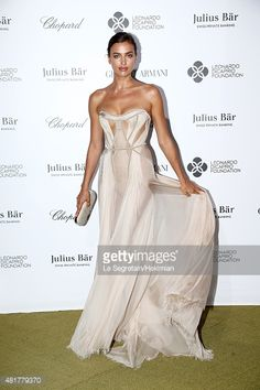 Irina Shayk attends the Cocktail reception during The Leonardo... News Photo | Getty Images