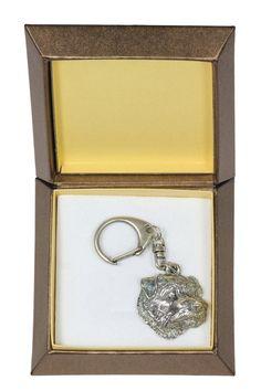 NEW Norfolk Terrier dog keyring key holder in by ArtDogshopcenter